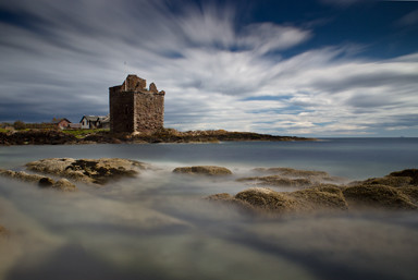 Portencross-Castle,-Scotland