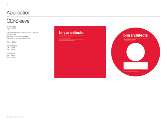 BMJ Architects Brand Guidelines