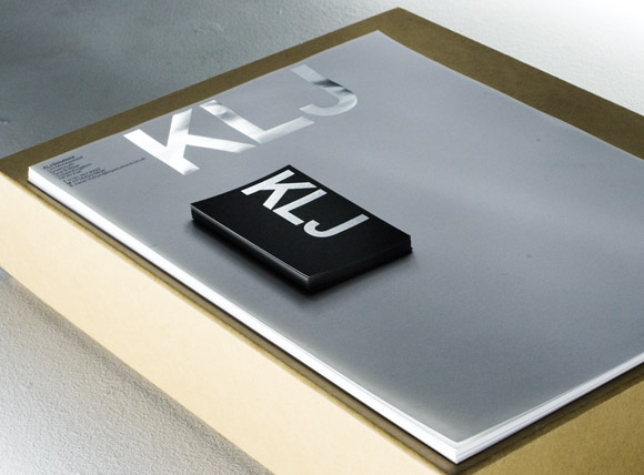 KLJ Solutions Business Cards