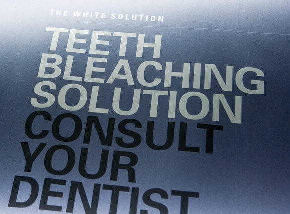 The White Solution Poster